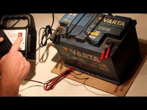 Как дома зарядить аккумулятор самому