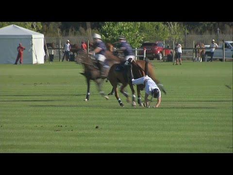 Hercegi landolások egy lovaspóló meccsen