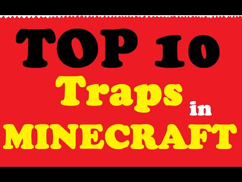 Minecraft: Top 10 Best Traps in Minecraft Ever!
