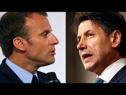 Trotz Streit: Treffen Macron-Conte soll stattfinden