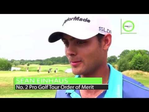 Sean Einhaus, Nummer 2 der Pro Golf Tour Order of Merit, nach Runde 2 der Castanea Resort Open
