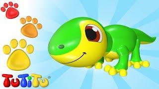 """TuTiTu - """"Os brinquedos ganham vida"""" é um programa de televisão animado tridimensional almejando crianças de 2 a 3 anos de idade. Através de formas coloridas o TuTiTu estimulará a imaginação e a criatividade das crianças. Em cada episódio as formas do TuTiTu irão se transformar em um novo e excitante brinquedo.Facebook (em português) - https://www.facebook.com/TuTiTuTVPinterest - http://www.pinterest.com/tutitutvTwitter - https://twitter.com/TuTiTuTV---Production & Animation: Twist Animation Ltd.Production Designers: Tal Gamliel, Yossi DahanTuTiTu'S Theme Song: Lyrics: Sarit Ido Schechter, Music: Sarit Ido Schechter and Tal Gamliel, Musical Arrangement: Uri KarivVocals: Yael Shoshana CohenSound engineering: Gil Landau"""