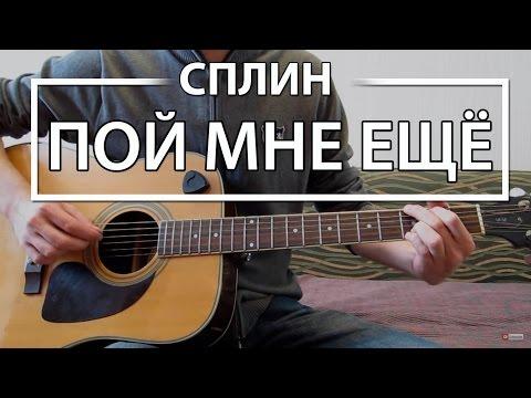 """Как играть """"Пой мне еще"""" - Сплин (Разбор)"""