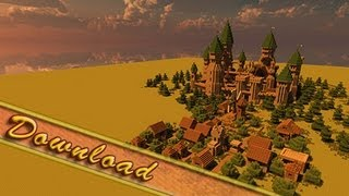 Minecraft, Creative Modern Castle With Download, Jeracraft