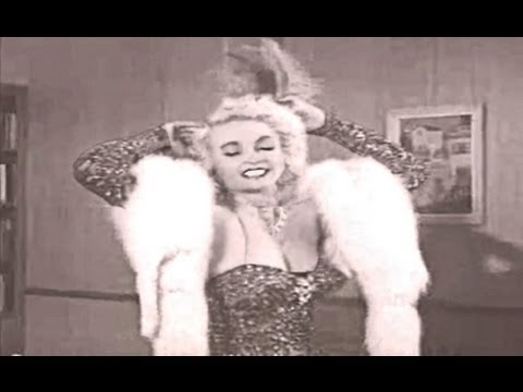 Burlesque dancer - Dixie Evans (40