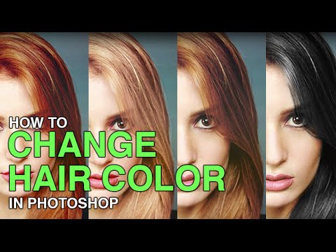 photoshop - Changing Hair Color in Photoshop There are many reasons why you may want to change hair color in Photoshop. Perhaps your subject has recently dyed their hair...