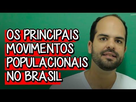 Os Principais Movimentos Populacionais no Brasil - Extensivo Geografia   Descomplica