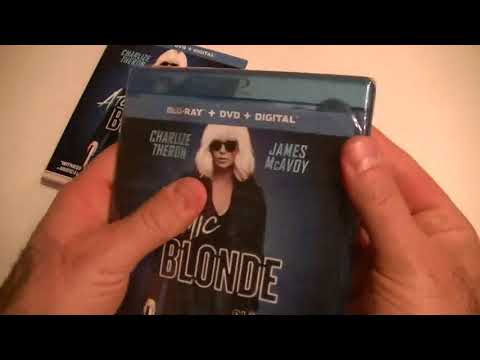 Présentation (unboxing) Du Film Atomic Blonde (Blonde Atomique) En Format Combo Blu-ray/DVD