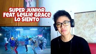 Video SUPER JUNIOR - LO SIENTO (feat. Leslie Grace) MV REACTION MP3, 3GP, MP4, WEBM, AVI, FLV April 2018