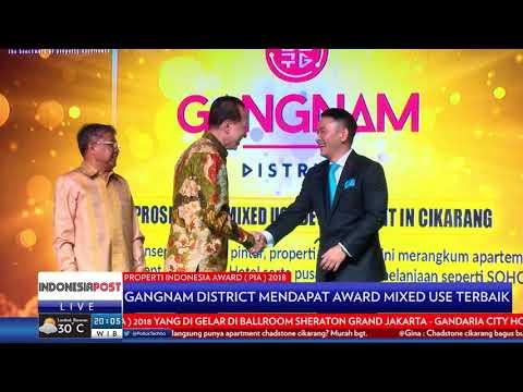 Gangnam District Mendapat Award MIXED USE Terbaik