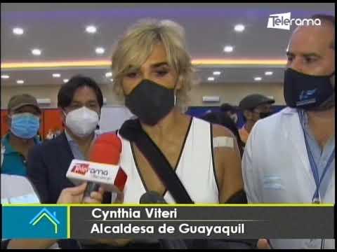 Municipio de Guayaquil y MSP arrancan hoy plan de vacunación
