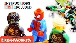 Spider-Man vs Ninjago LEGO Mashup: Doc Ock Dragon | INSTRUCTIONS NOT INCLUDED