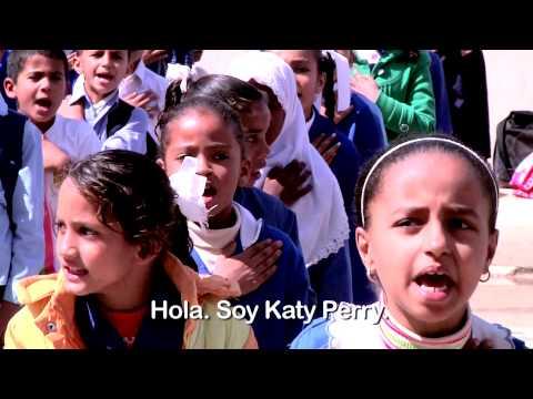 Katy Perry y UNICEF en el Día Internacional de la Niña