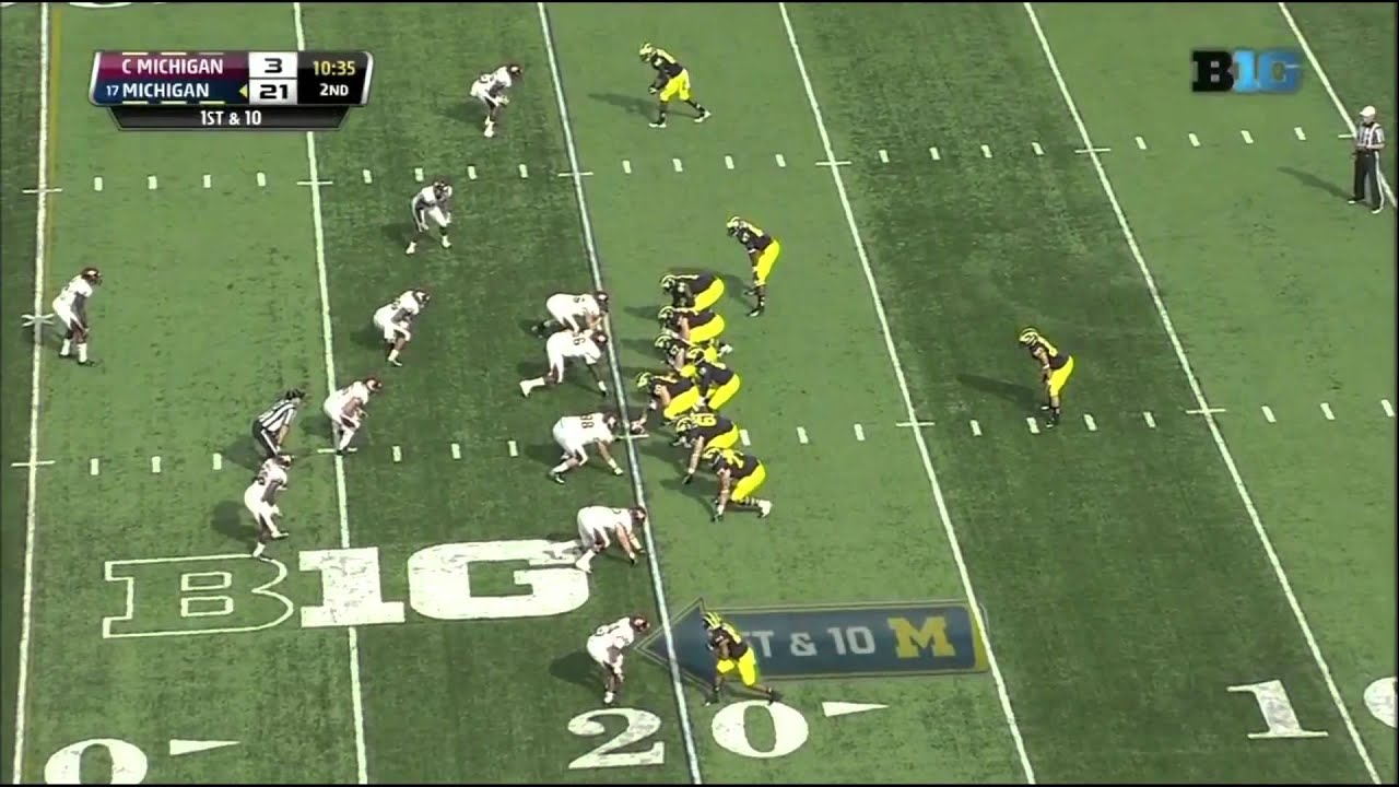 Devin Gardner vs Central Michigan (2013)