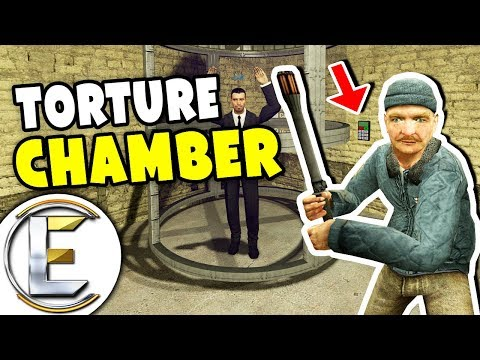 KIDNAPPERS TORTURE CHAMBER - Gmod DarkRP (Make Them Drop 10,000 Dollars And Make Them Scream) (видео)