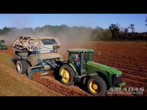 AR2200 Advanced Rotary Pull Type Peanut Combine