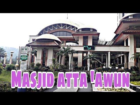 Masjid Atta 'awun Puncak || Spot yang pas untuk menikmati kawasan puncak
