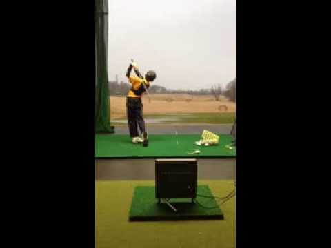 Junior Golf Training: TrackMan and K-Vest