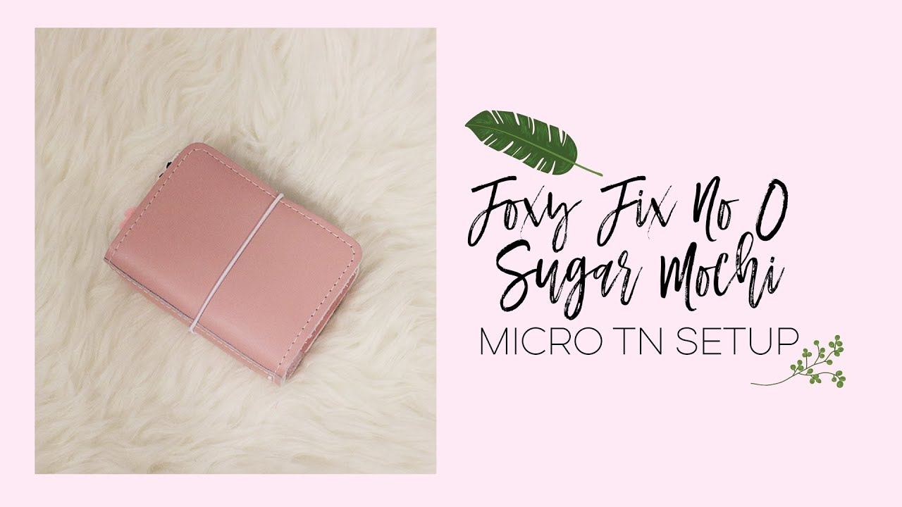 Foxy Fix No 0 Micro Sugar Mochi Setup - On The Go