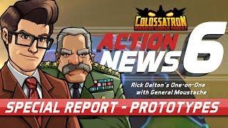 Nueva entrevista al General Moustache sobre prototipos de armas