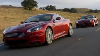 2008 Aston Martin DBS Vs. 2009 Ferrari 599 GTB Fiorano - CAR And DRIVER