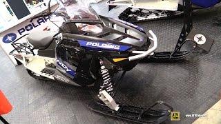 8. 2016 Polaris Indy 600 Voyager 144 Sled - Walkaround - 2015 Toronto ATV Show