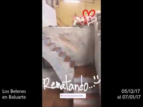 Construyendo belenes para Baluarte 2017 ¡Así vamos!