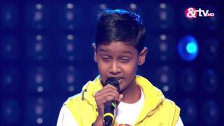 Bhilwara India  City pictures : Chetan Bharanga - Blind Audition - Episode 2 - July 24, 2016 - The Voice India Kids