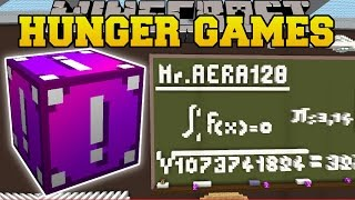 Minecraft: SCHOOL CLASSROOM HUNGER GAMES - Lucky Block Mod - Modded Mini-Game by PopularMMOs