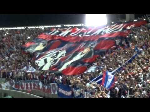 Video - El Ciclón en Caslamarca Final 2013 Recibimiento!!! - La Gloriosa Butteler - San Lorenzo - Argentina