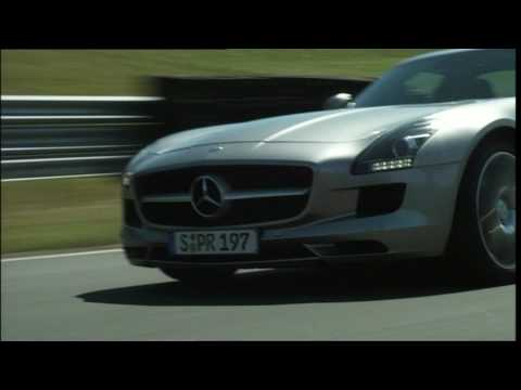 Mercedes Benz   SLS AMG Trailer