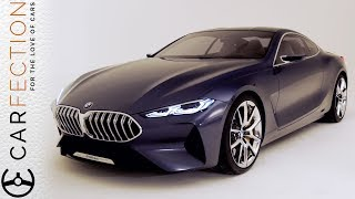 Subscribe for more Carfection videos: http://bit.ly/1V1yFYXWhat do you think of the new BMW 8Series Concept?Join the Carfection community...Like on Facebook: http://on.fb.me/1RvTdL4Follow on Twitter: http://bit.ly/1JUAgiI
