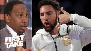 Klay Thompson is key to LeBron's quest for a Lakers championship – Stephen A. | First Take