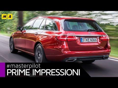 Mercedes Classe E SW 220 CDI (new 194 cv, 1.950 cc diesel) | Primo test [ENGLISH SUB]