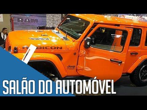 Salão do Automóvel 2018 SP - Novidades da Jeep