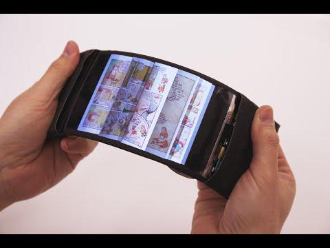 加拿大新研發出的「只要折一下」就可以操作的彎曲手機,看到實際操作影片我打賭這絕對會改變大家的未來啊!