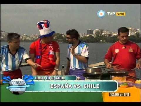 Cocineros en el Mundial Parte 6