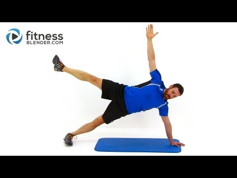 28 Minute Snowboard Workout – Fitness Blender Conditioning Workout Routine
