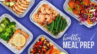 5 Healthy MEAL PREP Ideas | Back-To-School 2017 by The Domestic Geek