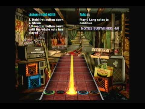 Guitar Hero 2 Tutorials: Basic Lessons