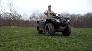 7. 2009 Honda Foreman 500 4x4 for Sale