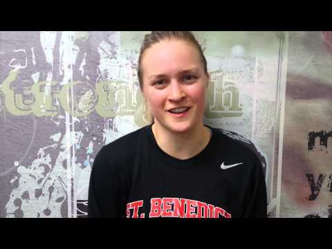 Tara Frey after St. Thomas upset