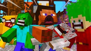ALEX is a WITCH - MINECRAFT STEVE AND BABY ZOMBIE [32]