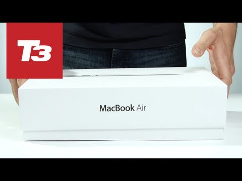 Apple MacBook Air 2013 unboxing video