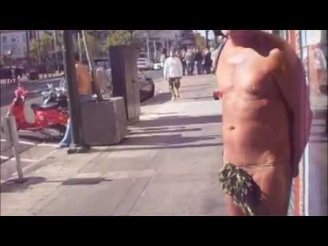Naaktloper San Fransisco verklaart