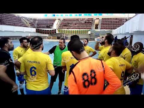 الجزيرة يتفوق على الشموع ضمن مباريات مرحلة الإياب للدوري الليبي لكرة اليد