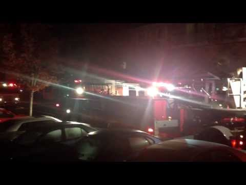 Bay Forest Senior Apartment Fire