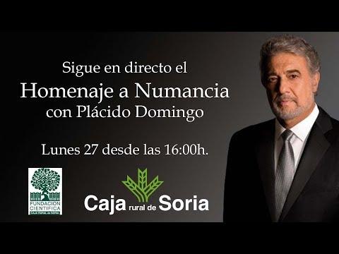 Directo Plácido Domingo en Soria