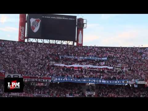 El primer grito de la tribuna - Primer gol de Cavenaghi - River vs. Quilmes, Torneo Final 2014 - Los Borrachos del Tablón - River Plate
