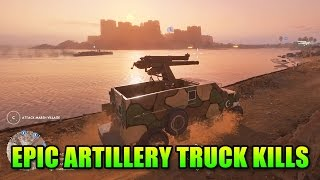 Artillery Truck Rains Death In Battlefield 1 | BF1 Squad Up Gameplay